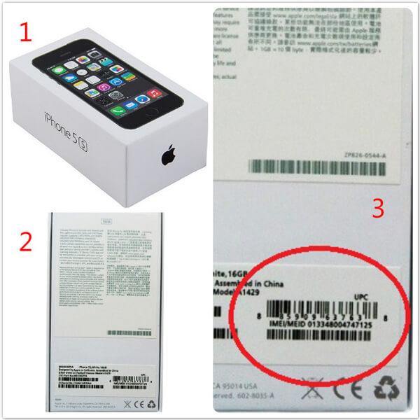 boite d'origine d'iphone