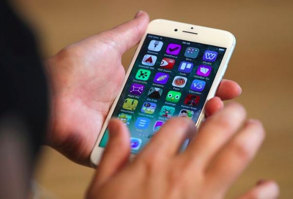 Überbeanspruchung des iPhone