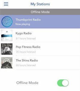 Laden Sie Pandora Music auf das iPhone herunter