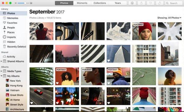 Fotos App Ernte Mac