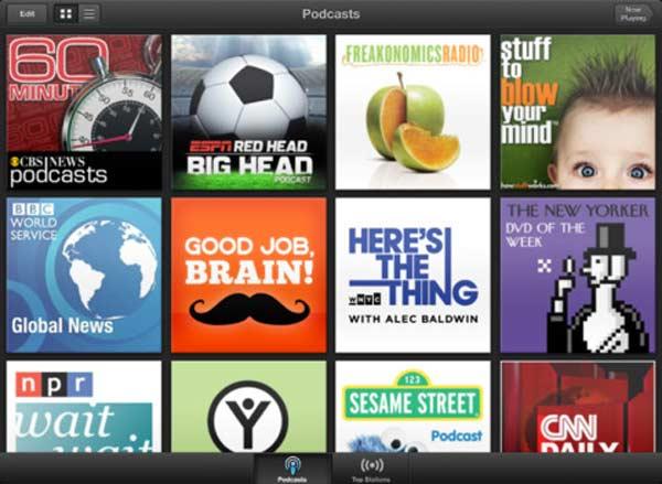 Podcasts auf iPad / iPhone