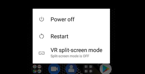 Выключить телефон Android