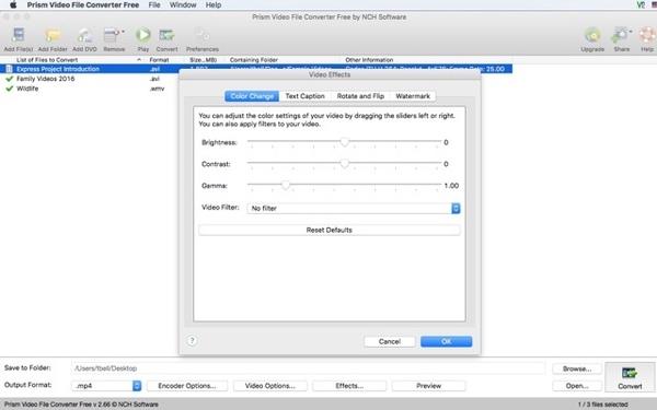 Prism Video File Converter Gratuit