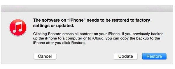 iPhone in Wiederherstellungsmodus setzen
