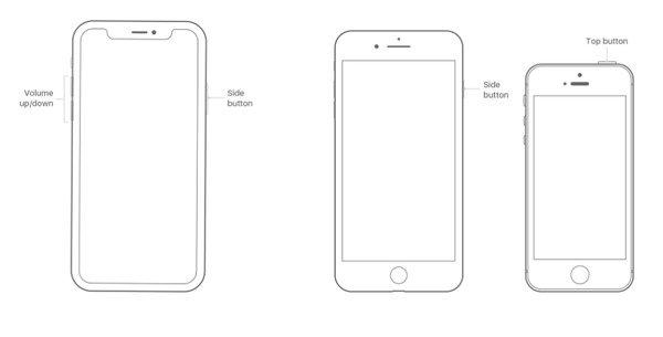 Désactiver l'iPhone