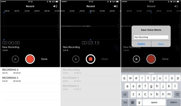 Record a Voice Memo on iPhone