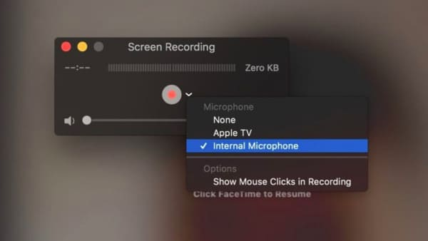 Record Facetime on Mac