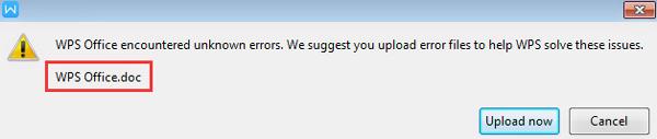 Stellen Sie nicht gespeicherte wps-Dateien von der Eingabeaufforderung wieder her