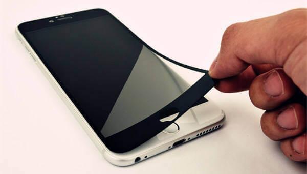 Screen Protector entfernen