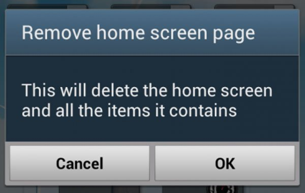 Remove Screen