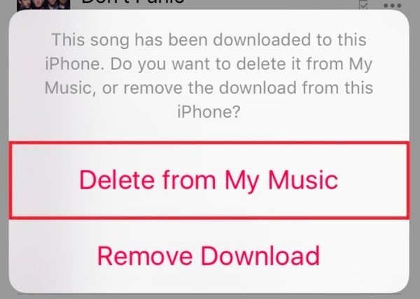Delete Songs from iTunes without Deleting on iPhone
