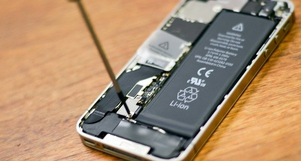 Changer la nouvelle batterie