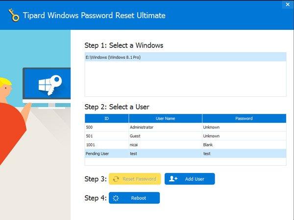 Windows 7パスワードをリセットする