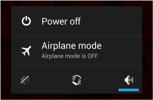 Androidを再起動します