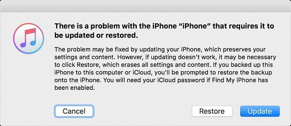 Restaurer l'iPhone DFU