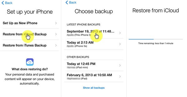 Restore deleted WeChat messages from iCloud backup