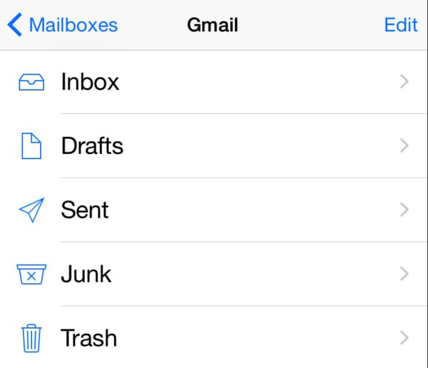 Retrieve Deleted Emails on iPhone from Trash