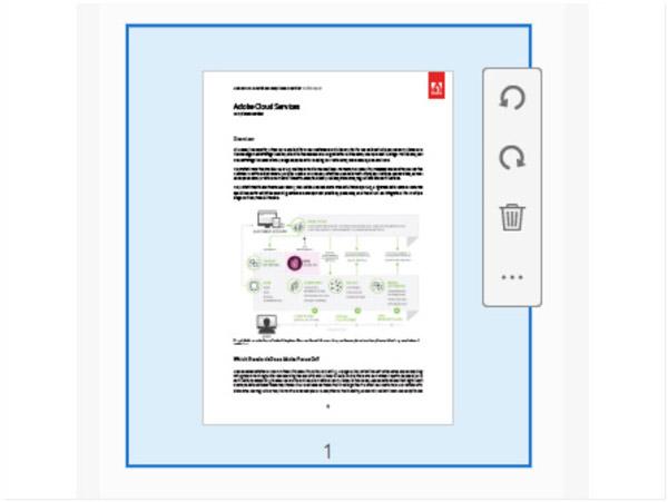Adobe AcrobatProでPDFページを回転させる