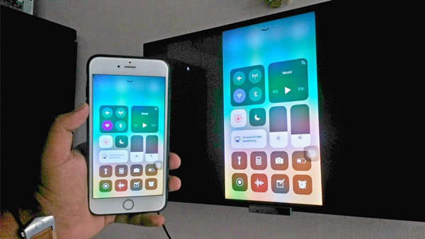 Screen mirroring for iPhone