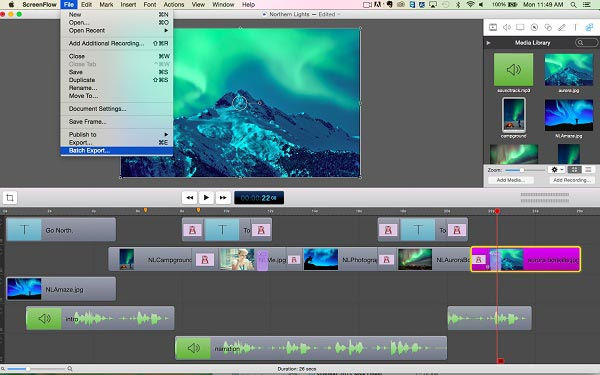 Screenflow Musikrekorder