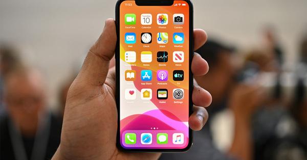 Capture d'écran sur iPhone