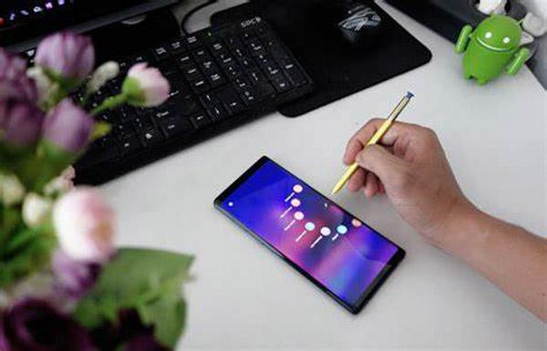 Capture d'écran Samsung S Pen
