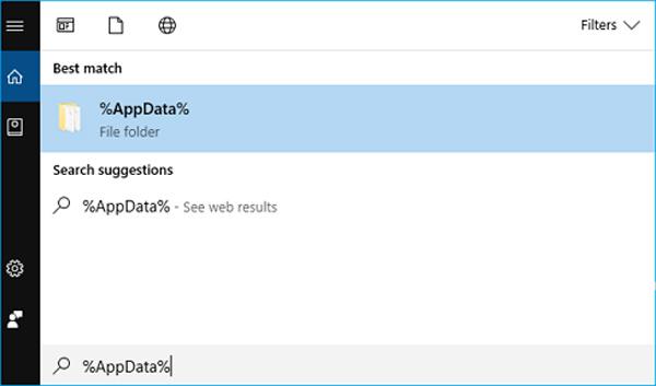 Поиск несохраненного документа Wordpad в меню