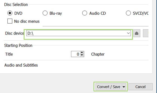 Wählen Sie den Speicherort des DVD-Laufwerks