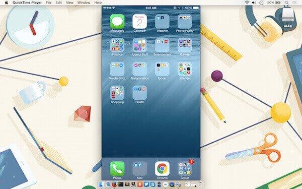 Wählen Sie das iOS-Gerät aus