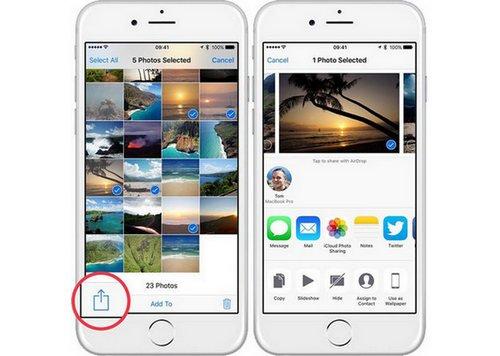 Enregistrer le courrier électronique GIF