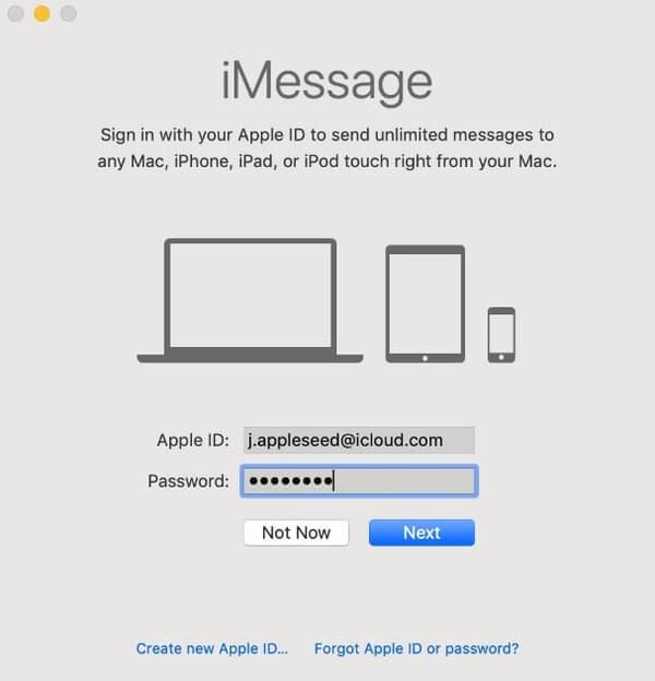 Richten Sie iMessage auf dem Mac ein