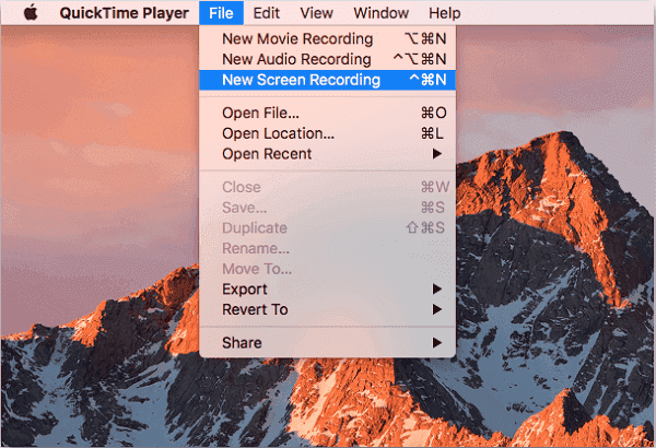 Set QuickTime settings