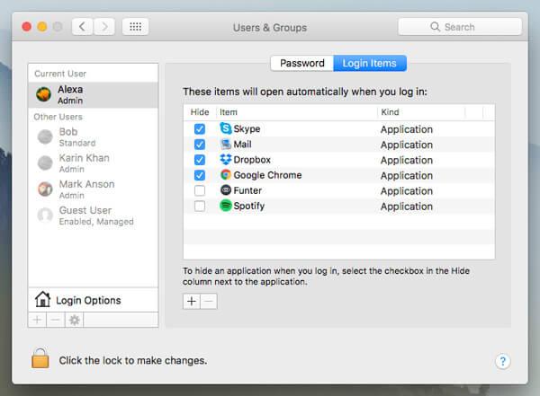 Fahren Sie den Hintergrund des Mac-Hintergrunds herunter