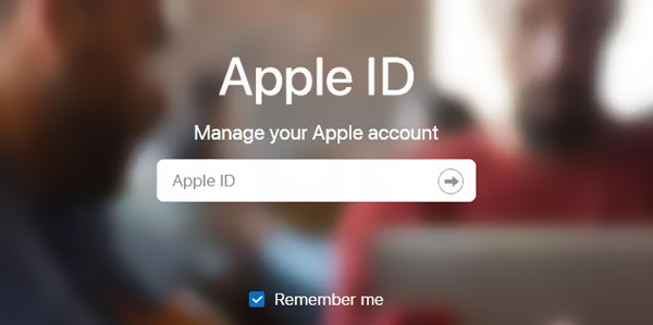 Sign in Apple ID IOS