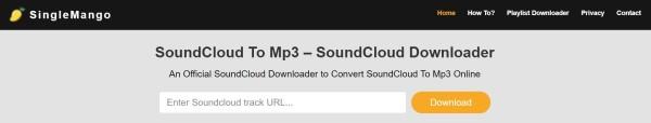 Singlemango Soundcloud zu MP3 Converter