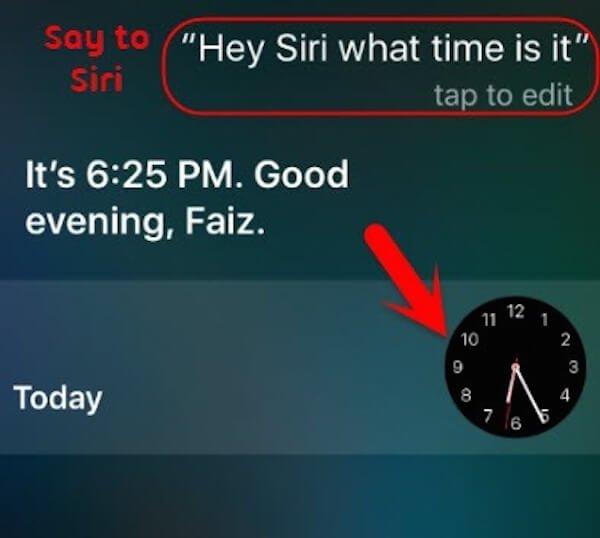 Siri-Fragen