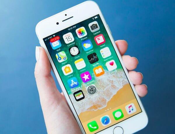 Réinitialisation logicielle iPhone 8