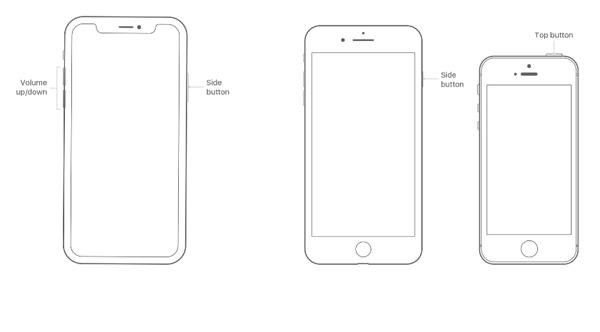 Soft Reset des iPhone