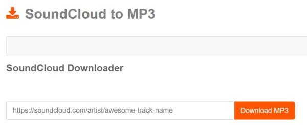 Soundcloud MP3-Konverter