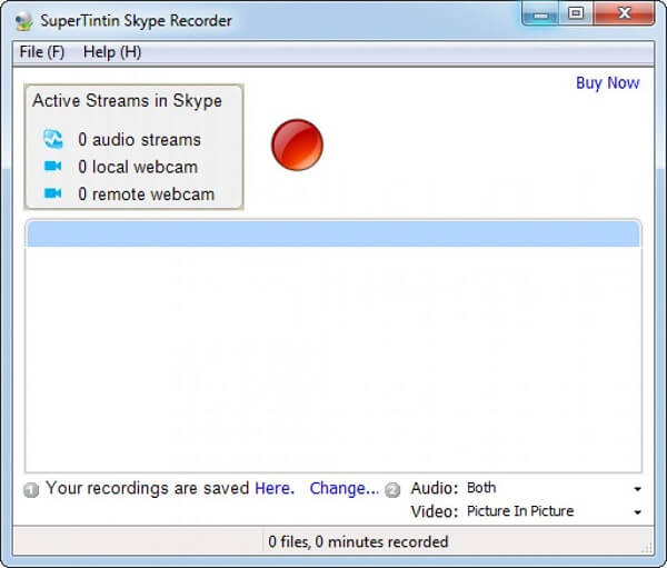 Enregistreur Skype Supertintin
