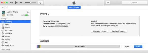 Mit iTunes synchronisieren