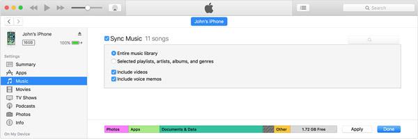 Synchroniser iDevice avec iTunes