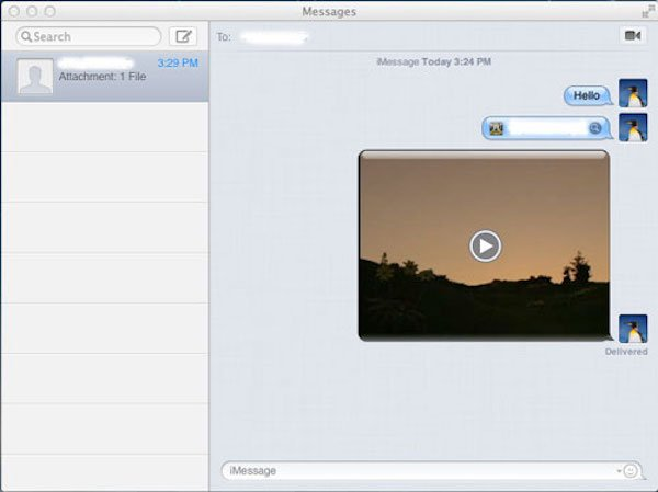 Передача файлов на iPad через iMessage