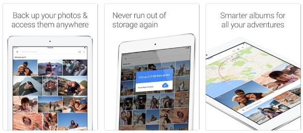 Fotos mit Google Photos übertragen