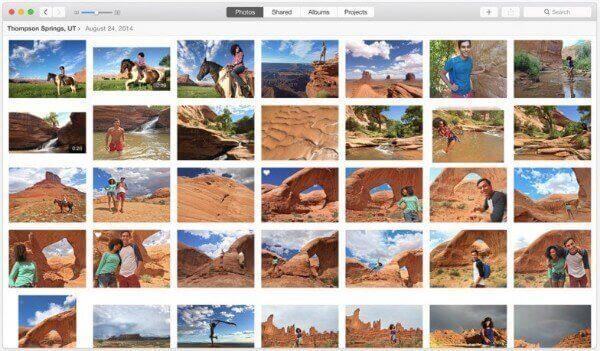 Fotos mit der App übertragen