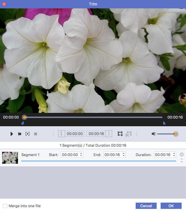 Videoteile kürzen