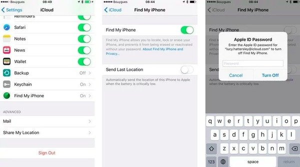 How to reset my iphone restrictions password