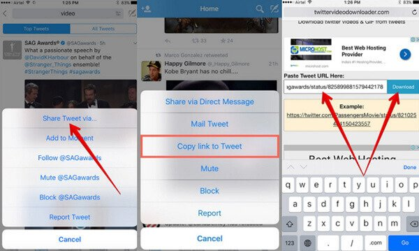 3 Best Methods to Download Twitter Videos and GIF Files on