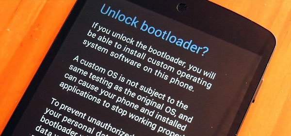 Entsperren Sie den Botloader