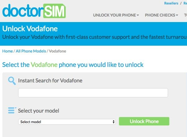 Permanently Unlock iPhone from Vodafone Australia